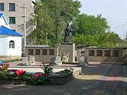 Memorial to soldiers of the Great Patriotic War, Kupiansk-Vuzlovyi (02).JPG