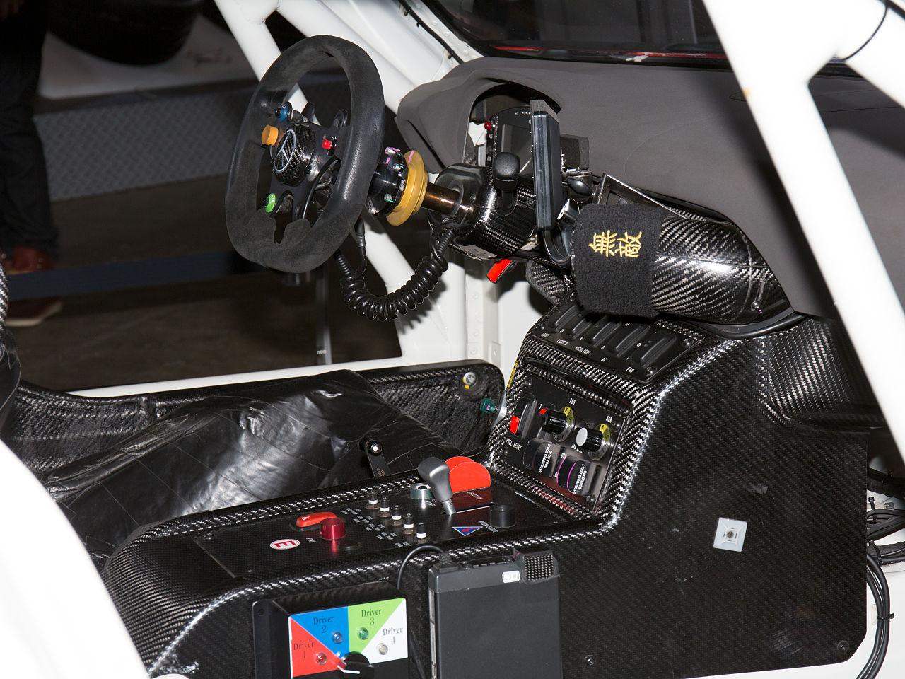File:Mercedes-Benz SLS AMG GT3 cockpit 2015 Tokyo Auto Salon.jpg ... | {Auto cockpit 43}