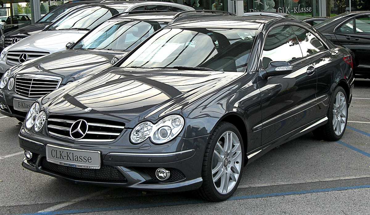 mercedes benz clk class c209 wikipedia. Black Bedroom Furniture Sets. Home Design Ideas