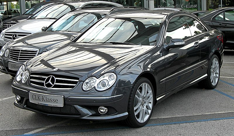 Mercedes-Benz sports cars CLK-Class C209  Series