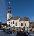 Metnitz Grades Pfarrkirche hl Andreas mit Friedhof SO-Ansicht 21122016 5741.jpg