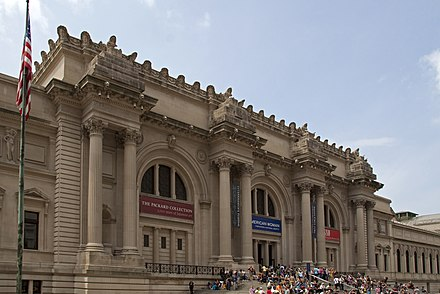 The Metropolitan Museum of Art, part of Museum Mile, is one of the largest museums in the world.[479]