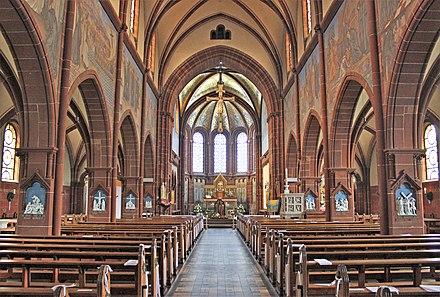 St Lutwinus Mettlach Wikiwand