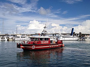 Miami Fire-Rescue Department - Fire boat