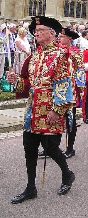 Michael Siddons - Michael Powell Siddons, Wales Herald of Arms Extraordinary