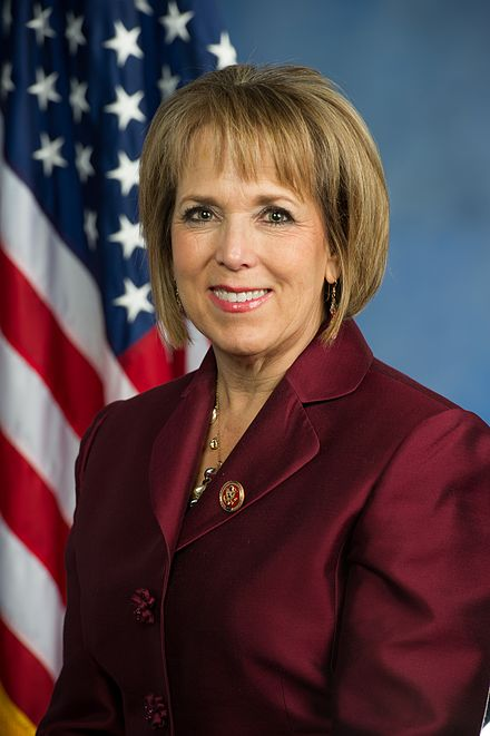 Michelle Lujan Grisham official photo., From WikimediaPhotos