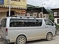 Micro bus in-front of hotel in Paro.jpg