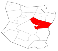 Location within Schoharie County