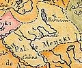 Mienski paviet. Менскі павет (Vaugondy, 1756).jpg