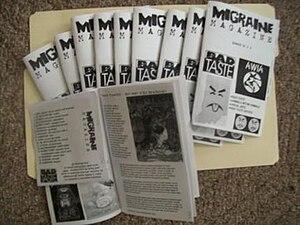 English: migraine magazine issue #1