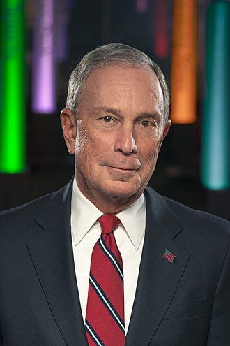 One-dollar salary - Michael Bloomberg