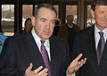 Mike Huckabee in Iowa, 2010.jpg