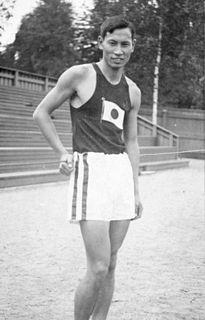Mikio Oda Japanese athlete