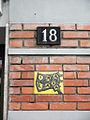 Milano formella INA-Casa via Passo Sella 18.JPG