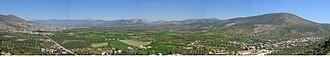 Albert Jean Amateau - Panorama of Milas plain, Turkey, birthplace of Albert Jean Amateau.