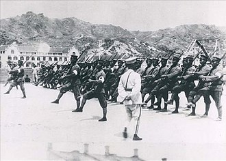 Beiyang Army - Military training of the Beiyang Army during 1910s.