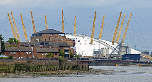 Millennium Dome from Old Royal Naval College