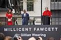 Millicent Fawcett Statue 03 - Theresa May Speaks (39872520560).jpg