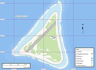 Karte von Minami Torishima, Japan