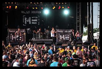 Mindset Evolution - Image: Mindset Evolution performing at Rocklahoma 2013