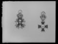 Miniatyrordenstecken KXIII, S-t Olav - Livrustkammaren - 10788.tif