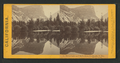 Mirror Lake and reflections, Yo-Semite Valley, Mariposa County, by Lawrence & Houseworth 5.png