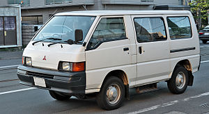 2002 Bali bombings - A Mitsubishi L300 van like the one in which the car bomb was planted.