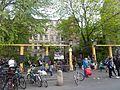 Mitte Auguststraße am Gallery Weekend Clärchens Ballhaus.JPG