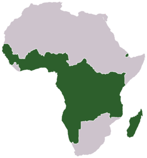 Mittelafrika - Alternative planning in 1918, including the takeover of French colonies in Western and Central Africa