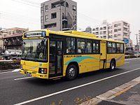 特別支援学校の例(東京都立江戸川特別支援学校、宮園福祉が運行)