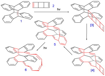 Synthesis of a Mobius ring