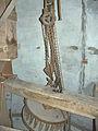 Molen De Prins van Oranje, Bredevoort maalkoppel opengelegd steenrondsel takel.jpg