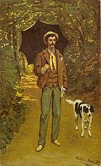 Portrait de Victor Jacquemont au parasol