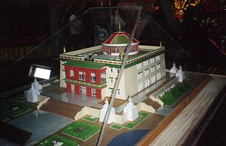 Architecture of Mongolia - Model of the Maitreya Temple