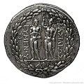 Monnaie Tétradrachme Argent Pergame portrait Eumène II revers.jpg