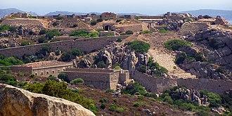 Palau, Sardinia - Image: Monte Altura, Palau, Sardinia, Italy