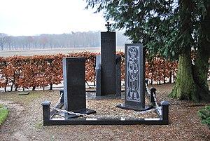 Garderen - Serbian monument in Garderen