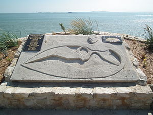 Operation Frankton - Monument commemorating Operation Frankton in Saint-Georges-de-Didonne, near Royan.
