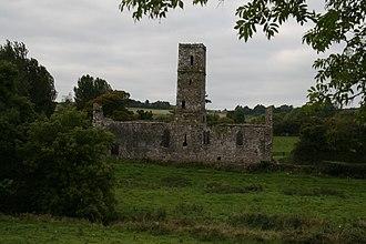 Galbally, County Limerick - Moor Abbey ruins, Galbally