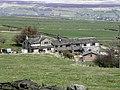 Moor End, Steep Lane from Long Edge Road, Sowerby - geograph.org.uk - 1803236.jpg