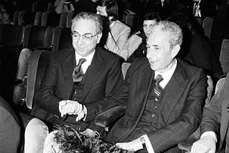 Francesco Cossiga - Cossiga with Aldo Moro.
