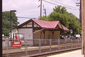 Morton, Pennsylvania - Morton SEPTA station