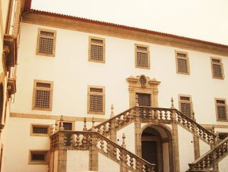 Monastery of Arouca - The austere front facade of the monastery