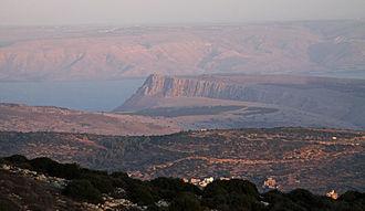 Mount Arbel - Image: Mount Arbel, Israel
