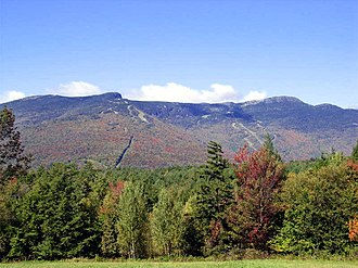 Mount Mansfield - Mount Mansfield, September 2004