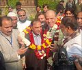 Mr. SM Khan and Mr. Sirajuddin Qureshi with supportersjpg.jpg