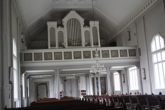 Multia, Finland - Image: Multian kirkko Urut IMG 3032 C