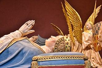 Margaret of Bavaria - Margaret of Bavaria on her tombstone in Dijon