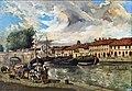 Musée du vieux Toulouse - Le port Saint-Sauveur et le canal du Midi Inv.80 1389.jpg