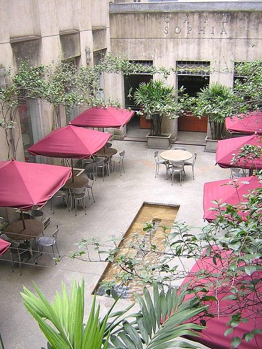 Museo de Antioquia-PatioPosterior-Medellin cafe